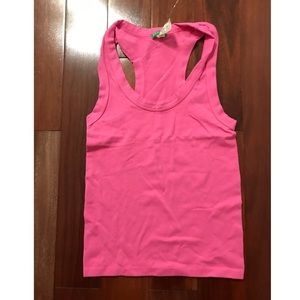 Made in Italy Of Benetton tank pink one size